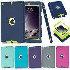 """Heavy Duty Shockproof Hard Case Cover For iPad Mini 1/2/3/4 Air PRO 9.7"""""""