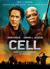 Stephen King's Cell (DVD + Digital HD, 2016) In Excellent Condition!!!
