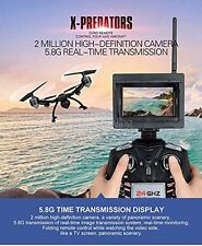 RC Quadcopter Drone JXD 510G 5.8G FPV 2.0MP Camera 4CH 6 Axis Gyro  Headless