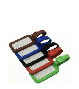 DURABLE LUGGAGE STRAPS LABELS TAGS SUITCASE BAG BAGGAGE TRAVEL STRONG LAST LONG