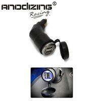 Adjustable Dual USB interface Port Charger Adapter For BMW R1200RT ADV R1200GS