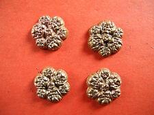 Messing Applikationen Zierteile Blüten Blumen KT 7