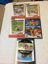 Lego PC Spiele Bundle Lego Loco LEGO Insel 2 Lego Racers 2 LEGO Schach & Creator
