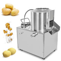 Commercial Automatic Potato Peeler Root Vegetable Peeling Machine 15-20KG Clean