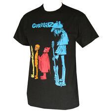 GORILLAZ BLUE NOODLES Men's T-Shirts Black