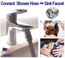 DELIVERED FAST! Handheld Shower Hose to Faucet Connector - G1/2 to M24 Adapter