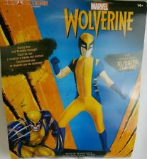 Marvel Wolverine Costume Halloween Youth Size XL 14-16 Skinovations