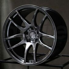ESR SR08 17X8.5 ET30 5X114.3 Hyper Black Wheels Fit Lexus IS 350 AWD