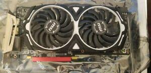 MSI Radeon RX 580 ARMOR OC 8GB Graphic Card USED
