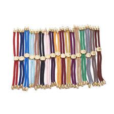 Blanks Tree Slide Stopper Cord End 10 Random Nylon Cord Twisted Slider Bracelet
