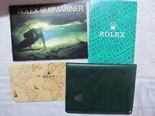 Original Vintage Submariner Booklet,Kalender,Cardholder & Transalation