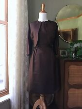 50s Dress Set Mort Schrader Vintage 1950s Designer Sheath Wiggle Lined Jacket