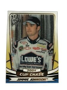 2004 Press Pass INSERT CLEAR CUP CHASE NASCAR Card #CC 7/18 Jimmie Johnson