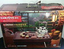 Kamjove KJ -8210 Multifunctional Woodcutting Electric Art Tea Set