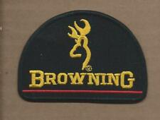 NEW 2 5/8 X 3 5/8 INCH BROWNING RIFLES IRON ON PATCH FREE SHIPPING P1