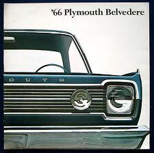 Prospekt brochure 1966 Plymouth Belvedere  (USA)
