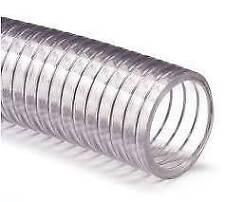 koelwaterslang (koud)  25 mm 5 bar transparant PVC staalinlage
