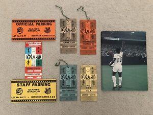1977 Pele Last Game FULL VIP TICKET PASS & Programme Set NY Cosmos Vs Santos