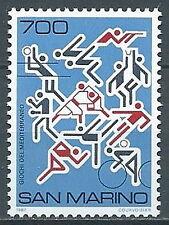 1987 SAN MARINO GIOCHI DEL MEDITERRANEO MNH ** - ED