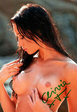 CLIVIA TREIDL Playmate 2012 handsigniertes Foto Autogramm 20er Format Sammlung