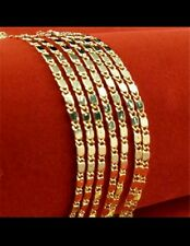 UK lady men14K GOLD FILLED  NECKLACE CHAIN GIRL FRIEND wedding jewellery gift