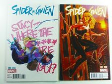 Marvel SPIDER-GWEN (2015) #3 1:25 PUTRI + #4 Brooks NYC VARIANT Set NM (9.4)