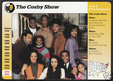 THE COSBY SHOW TV CAST Bill Photo 1995 Grolier Story of America CARD