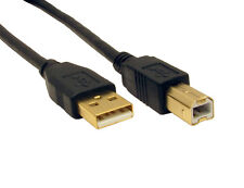 GOLD 5m Shielded USB Printer Cable Male - Male