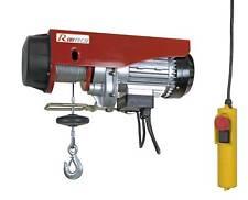 PALAN TREUIL ELECTRIQUE 100/200KG 480W POULIE+MOUFLAGE - PE100/200C