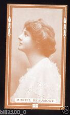 PHOTO . IMAGE ANCIENNE DE COLLECTION .. Murielle Beaumont . ACTRICE .ACTRESS .