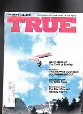 True Magazine Hang Gliding Davy Crockett Illegal Immigrants Mid May 1976