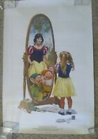 50th Anniversary L/E Poster Snow White by Charles Boyer Postmarked at Disney PO
