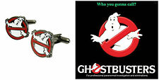 Men's Jewelry Stainless Steel Ghostbusters Party Shirt Cufflinks Cuff Link