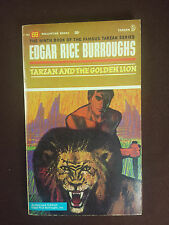Tarzan and the Golden Lion Burroughs Ballantine #9 F-753 1st printing 1963