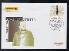 G-001) Germany 2005 FDC  - 200th anniversary of Adalbert Stifter