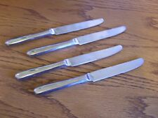 4 Pottery Barn Wallace Classic Continental 18/10 Stainless Dinner Place Knife
