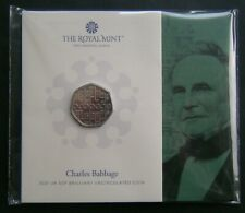 More details for 50p coin 2021 charles babbage royal mint pack bunc - in stock