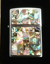 ZIPPO, MOTHER OF PEARL LIGHTER ((VERY RARE))