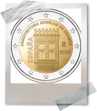 2 EURO *** Spanje 2020 Espagne *** Mudéjar Architecture Aragon !!!