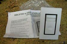 wattstopper HDLS2SS-7  WHITE DATALINE SWITCH ''KEYED'' NEW