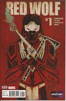 RED WOLF #1 Marvel Comics 1st Print 2016 Unread NM