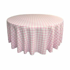 Tablecloth Checkered Round 30,36,45,54,60,72,83,90,96,108 and 120 inch