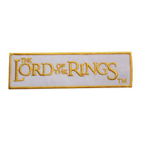 Lord Of The Ring Logo Movie Patch Iron On Sew On Badge Embroidered Patch