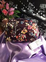 Vera Bradley Medium Cosmetic Bag~ Indiana Rose NWT RV $35