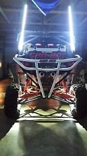 3FT quick disconnect WHITE LED light whip SXS ATV UTV rzr 4 wheeler RZR TERYX
