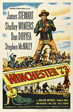 WINCHESTER '73 MANIFESTO JAMES STEWART SHELLEY WINTERS DAN DUREYA ANTHONY MANN