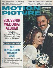 RARE - MOTION PICTURE MAGAZINE, NOV. 1972,  PATTY DUKE-JOHN ASTIN WEDDING ALBUM