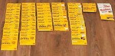 Kodak Collection of Prepaid Processing Mailer (62) PK20 DP24 PK36 DP36 PK36 DP12