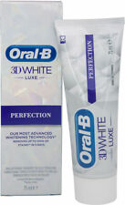 ORAL-B 3D WHITE LUXE PERFECTION TOOTHPASTE 75ML BRAND NEW & BOXED