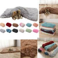 Puppy Pet Home Blanket Cat Dog Beds Mattress Kennel Large Soft Warmer Crate Mats